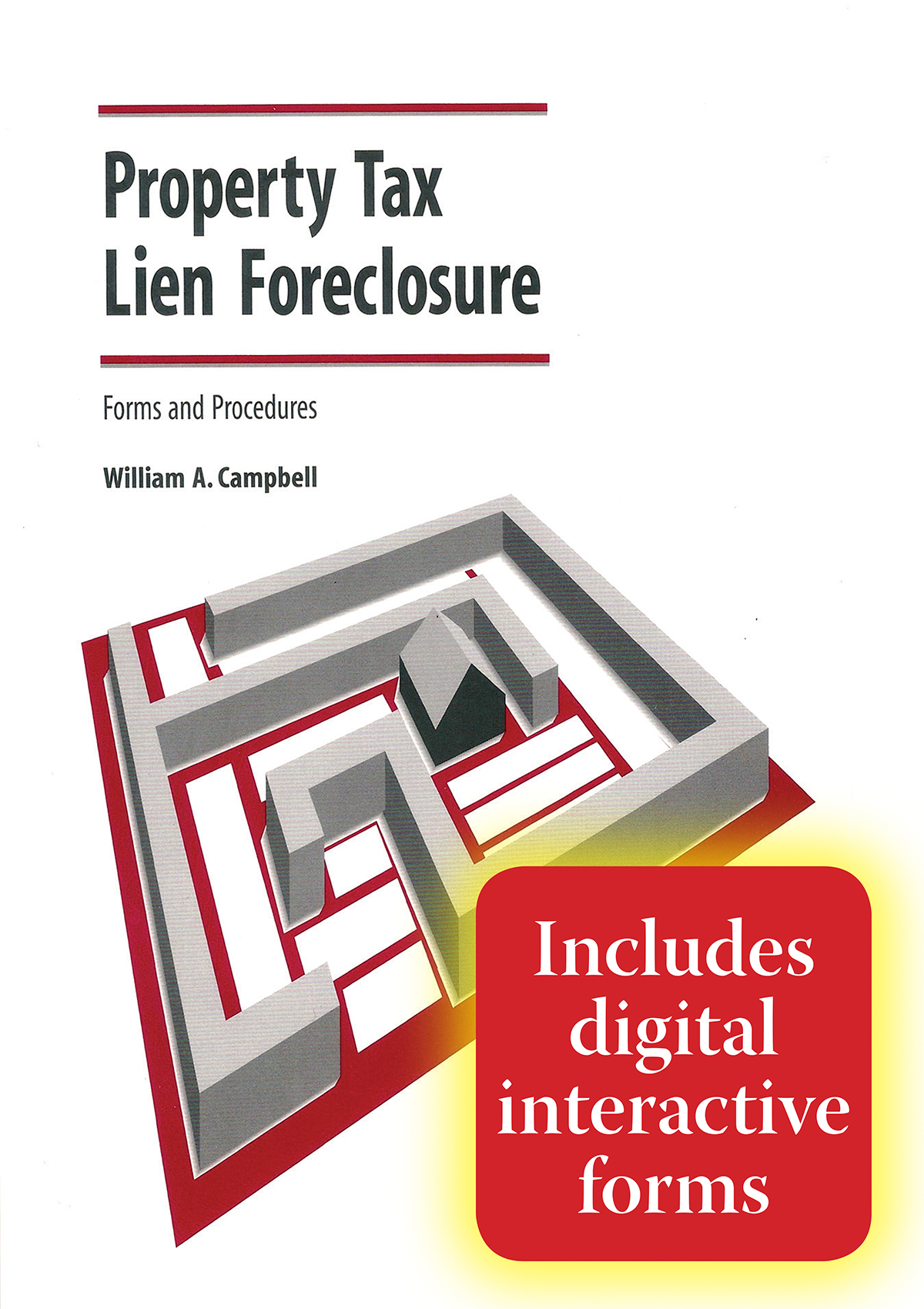 Cover image for Property Tax Lien Foreclosure Forms and Procedures