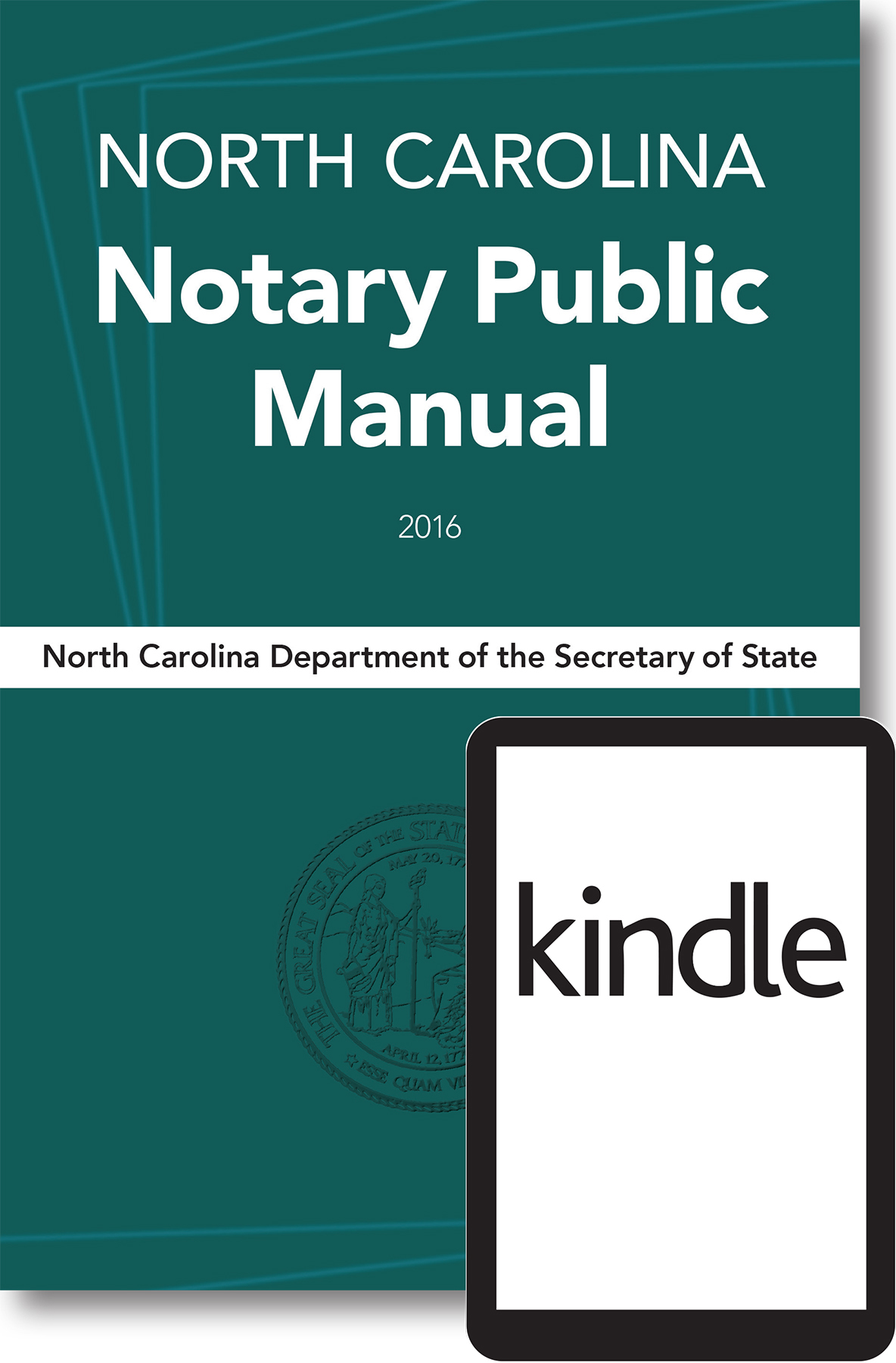Cover image for E-Book Download Item: North Carolina Notary Public Manual, 2016 (Mobi file format for Kindle e-Reading devices)