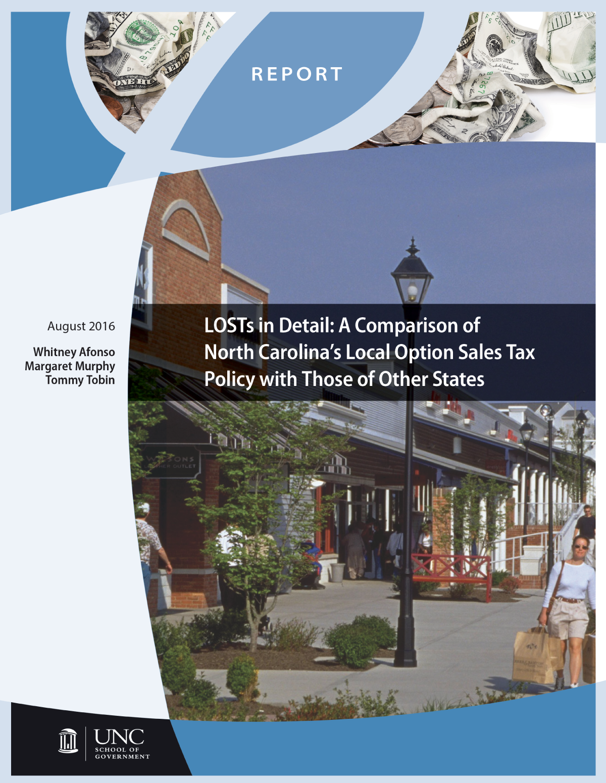LOSTs in Detail: A Comparison of North Carolina's Local Option Sales Tax Policy with Those of Other States