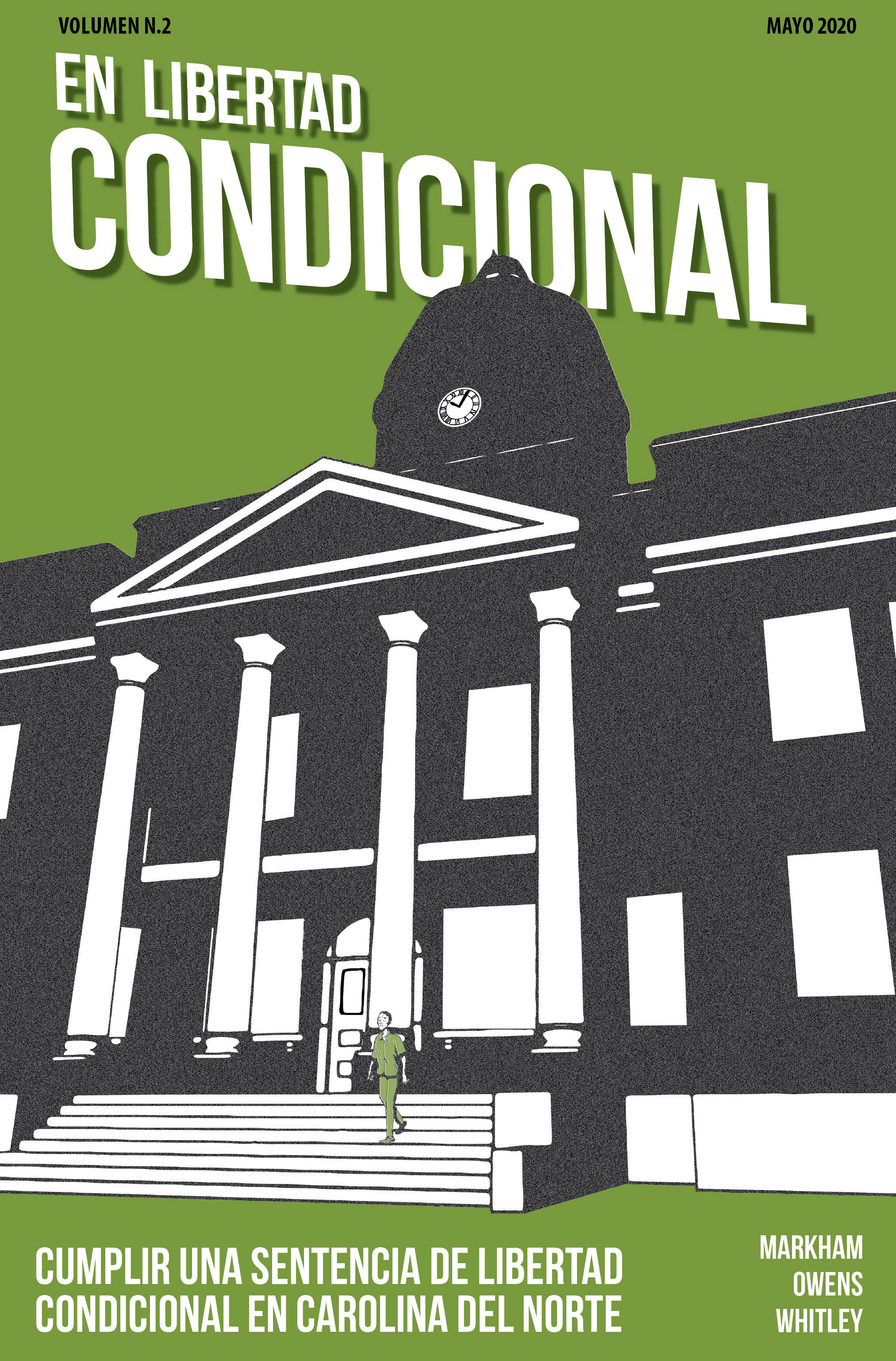 Cover image for On Probation: Serving a Probationary Sentence in North Carolina, Spanish Edition - Pack of 10