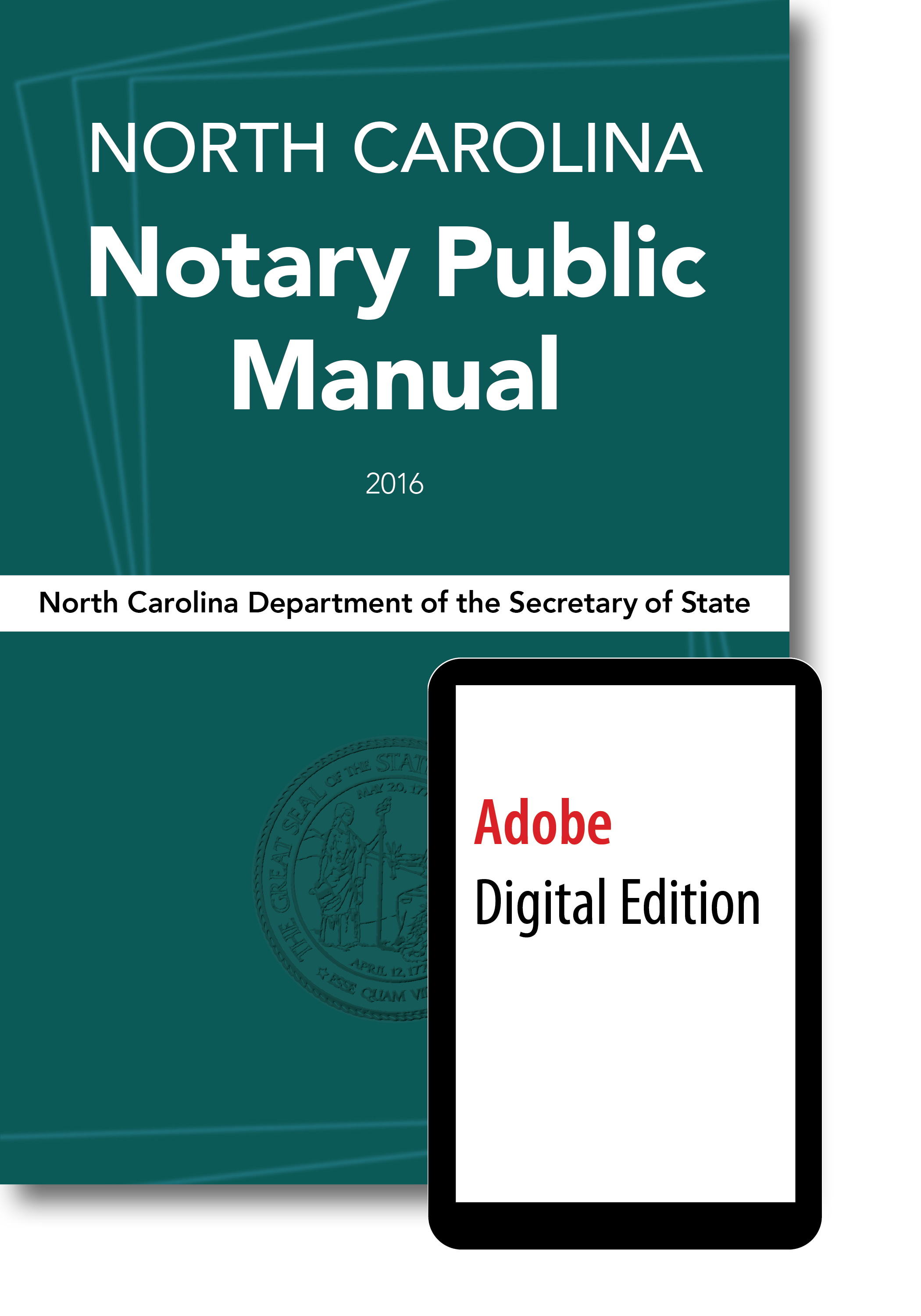 North Carolina Notary Public Manual, eBook for Nook, iBook, iPad, Sony