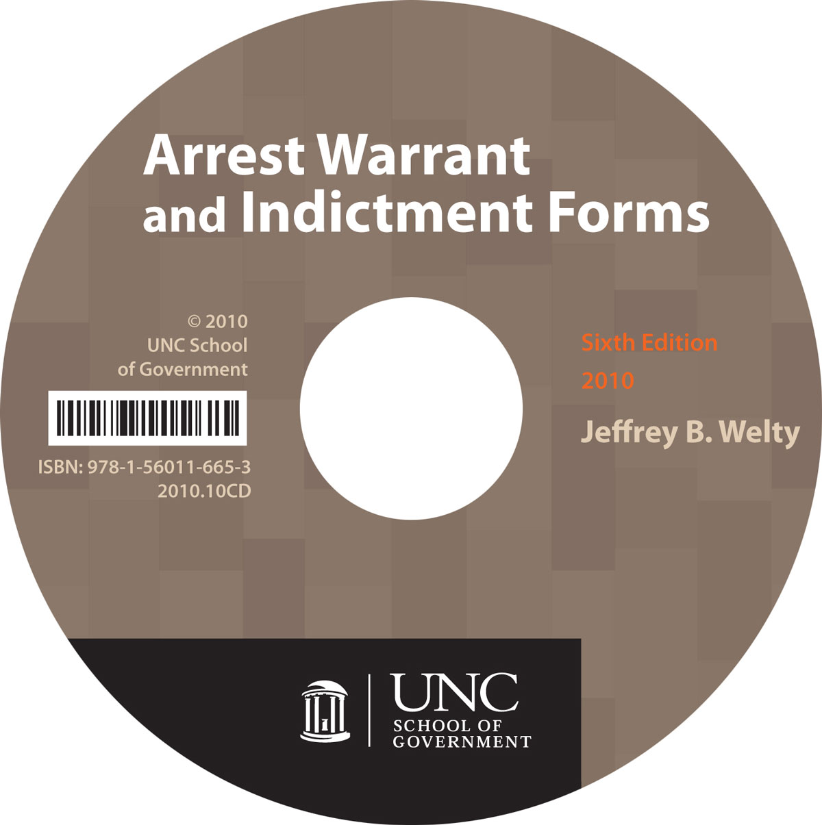 Cover image for Arrest Warrant and Indictment Forms, Sixth Edition, 2010: CD-ROM, Single-User
