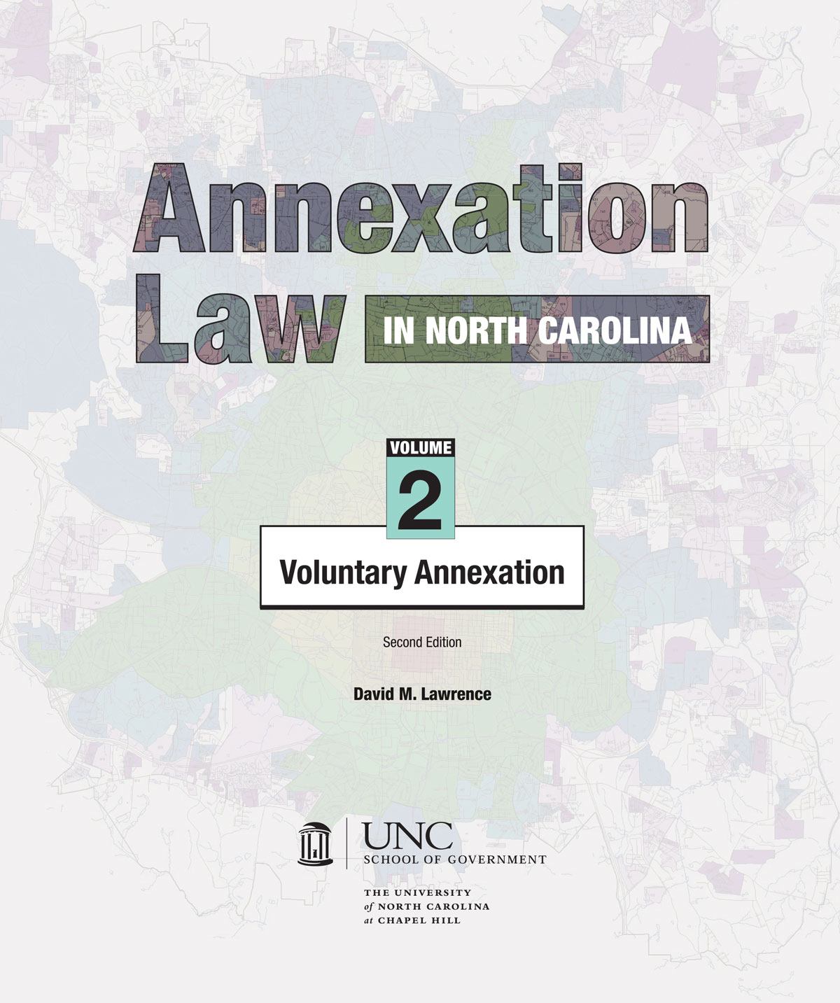 Cover image for Annexation Law in North Carolina: Volume 2 - Voluntary Annexation