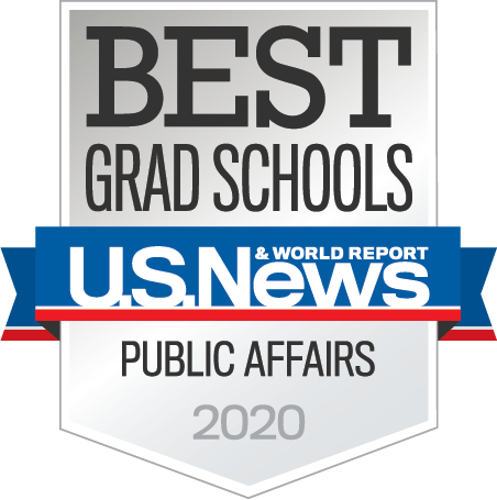 "U.S. News & World Report ""Best Grad Schools 2020"" Badge"