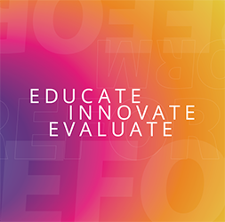 "Criminal Justice Innovation Lab logo reading ""Educate, Innovate, Evaluate"""