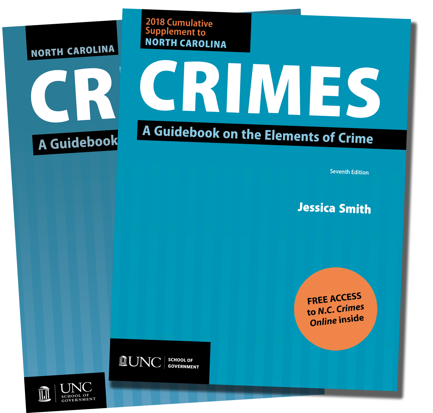 Cover image for North Carolina Crimes: A Guidebook on the Elements of Crimes, Seventh Edition, 2012, and the 2018 Cumulative Supplement with Online Access