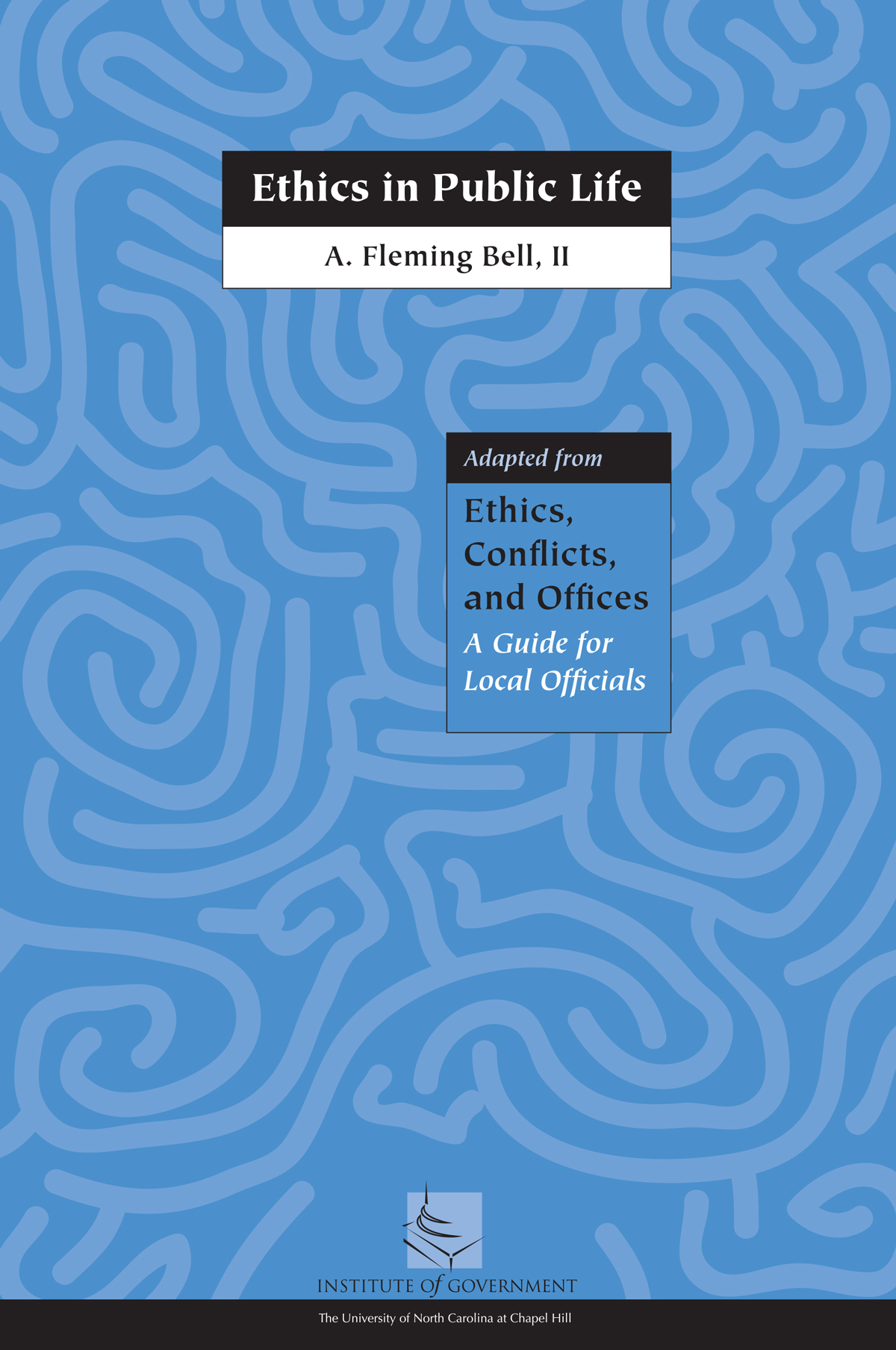 Cover image for Ethics in Public Life