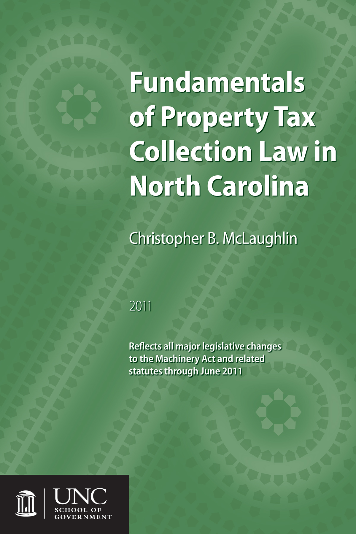 Cover image for Fundamentals of Property Tax Collection Law in North Carolina