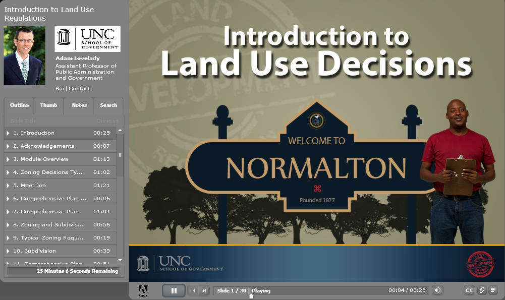 Introduction to Land Use Decisions