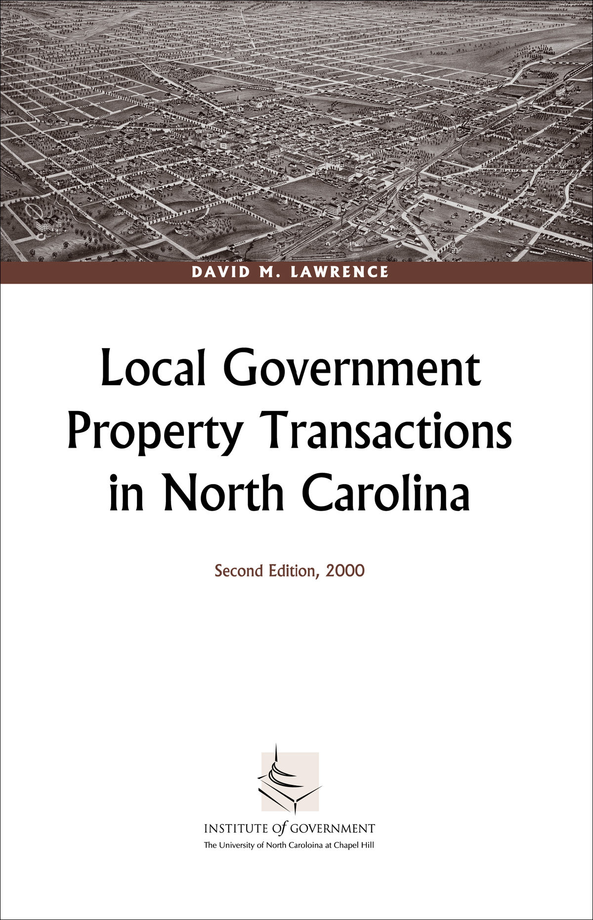 Local Government Property Transactions in North Carolina, Second Edition, 2000