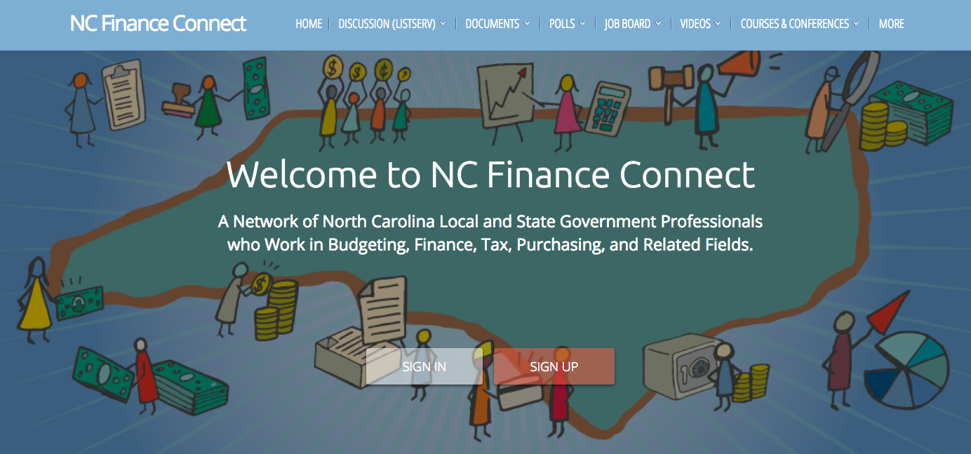 Cover image for NC Finance Connect: A New One-Stop Resource For Local Government Finance in North Carolina