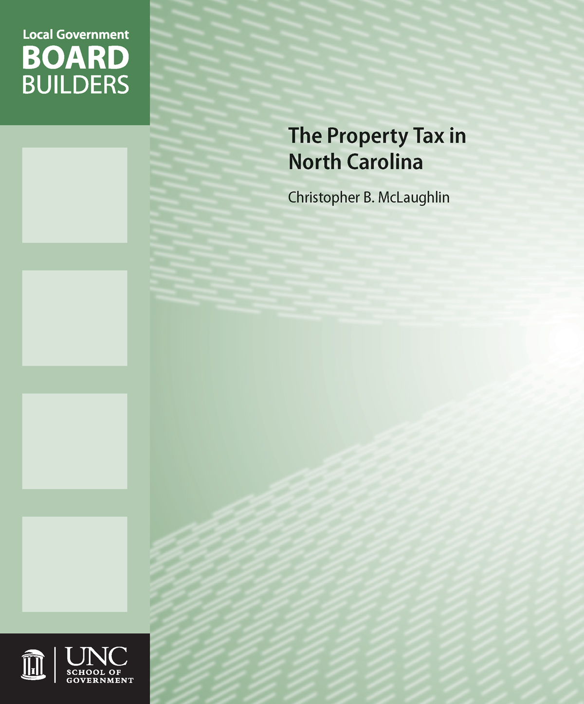 Cover image for The Property Tax in North Carolina