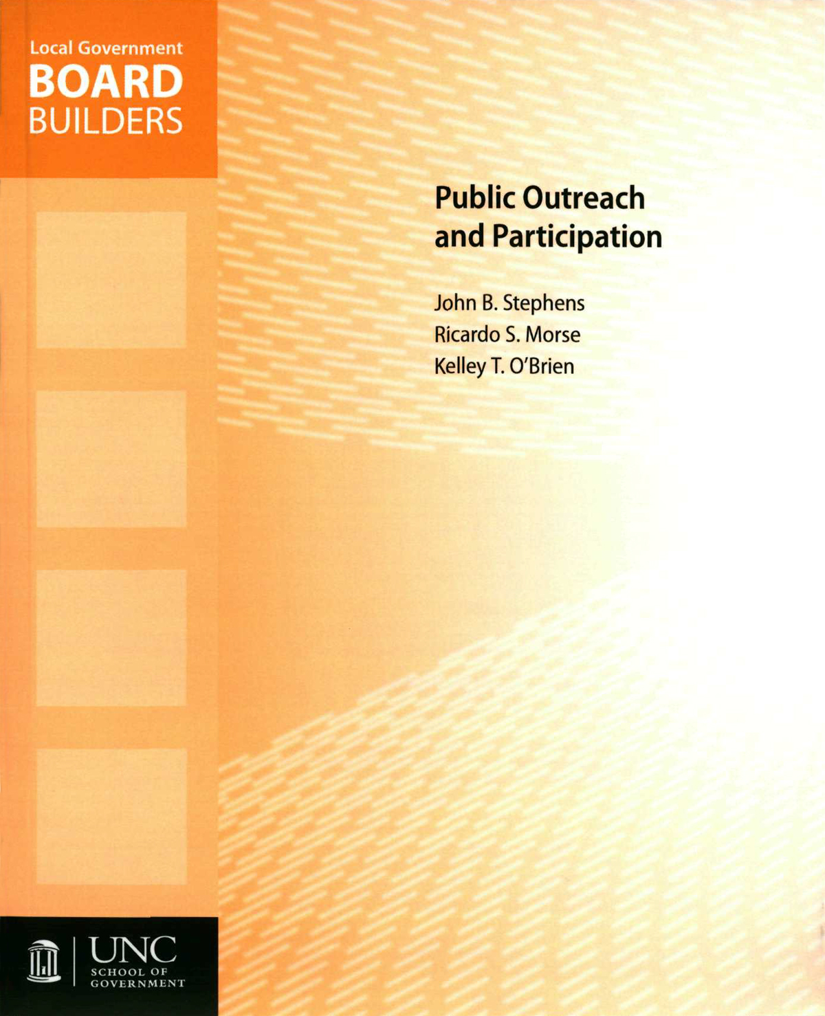 Cover image for Public Outreach and Participation