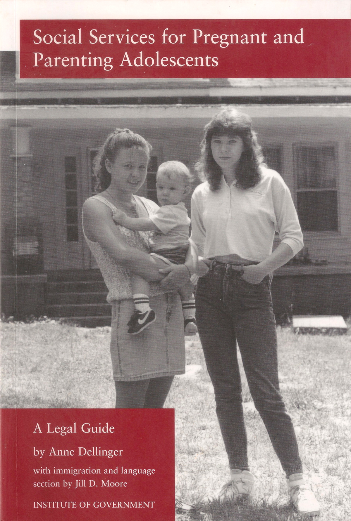 Cover Image For Social Services Pregnant And Parenting Adolescents A Legal Guide