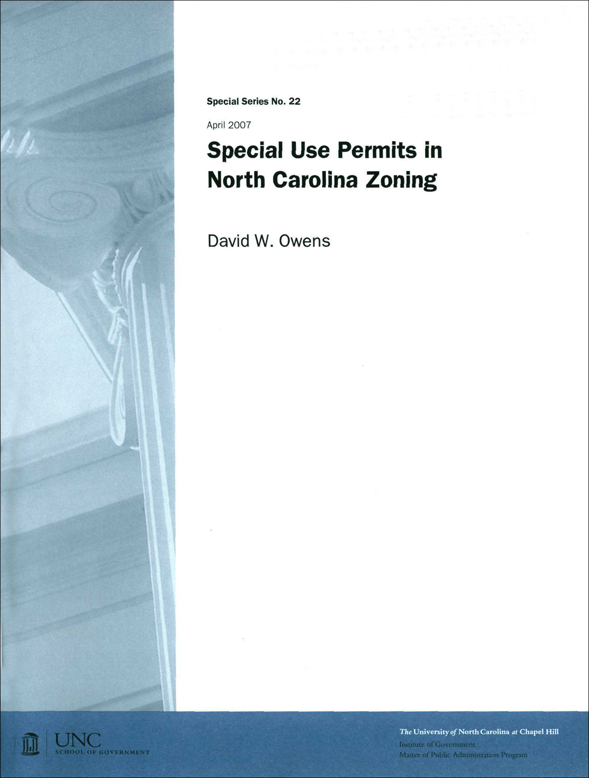 Cover image for Special Use Permits in North Carolina Zoning