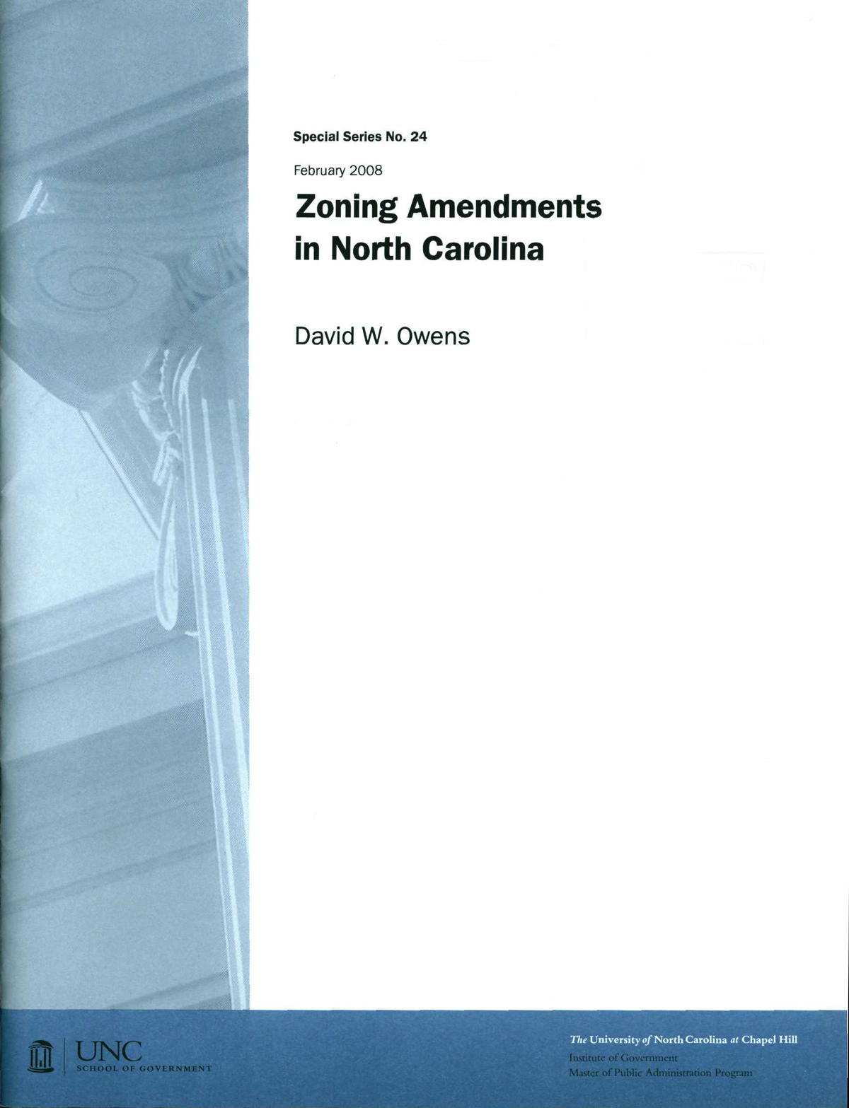 Cover image for Zoning Amendments in North Carolina