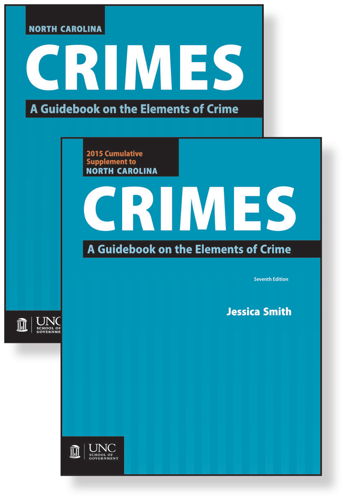 Package of North Carolina Crimes: A Guidebook on the Elements of Crime, Seventh Edition, 2012, and 2015 Cumulative Supplement