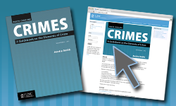 Cover image for North Carolina Crimes: A Guidebook on the Elements of Crime, Seventh Edition, 2012, with Subscription to NC Crimes Online through March 1, 2018
