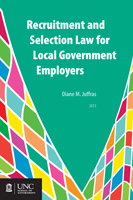 Cover image for E-Book Download Item: Recruitment and Selection Law for Local Government Employers (Nook, iPad, Sony [not Kindle])