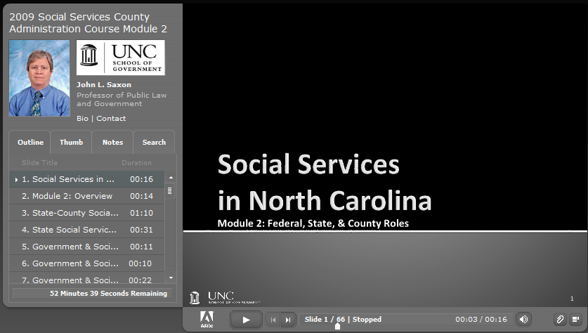 Social Services in North Carolina: Part 2