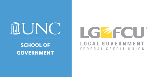 The School of Government and Local Government Federal Credit Union Logos