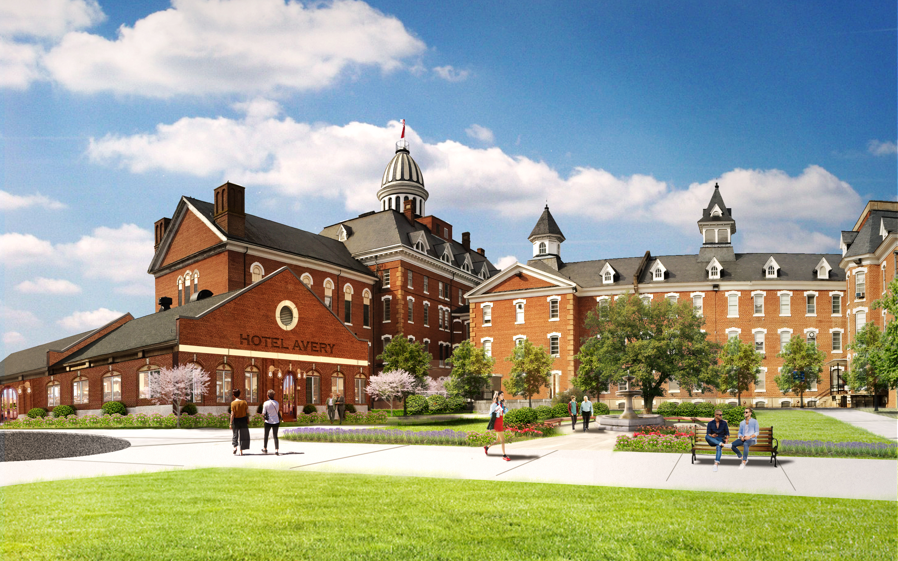DFI Facilitates New Vision for Historic Broughton Hospital Campus
