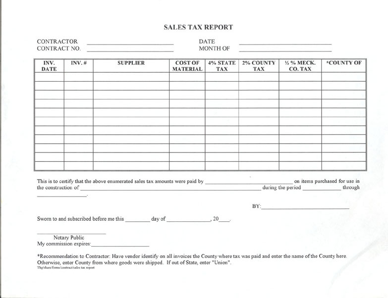Shipping and receiving form template