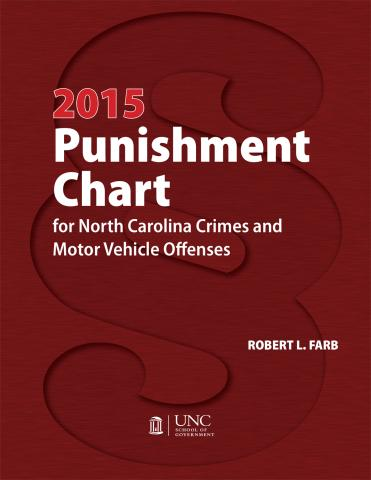 2015 Punishment Chart for North Carolina Crimes and Motor Vehicle Offenses
