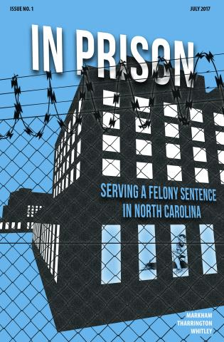 In Prison Graphic Novel Cover Image