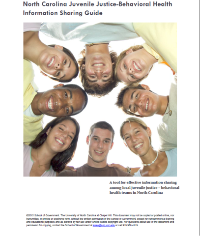 NC Juvenile Justice - Behavioral Health Information Sharing Guide cover.png