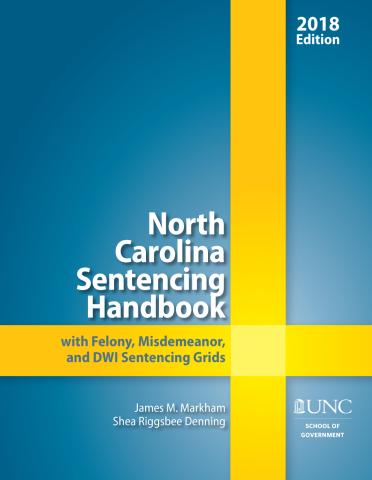 2017-2018 Sentencing Handbook Cover
