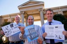 Shane Tharrington, Manager of Inmate Classification and Mainframe Technical Support, N.C. Department of Public Safety, Prisons  Jason Whitley, Creative Lead, Educational Design and Innovation, UNC Eshelman School of Pharmacy  James Markham, Associate Prof
