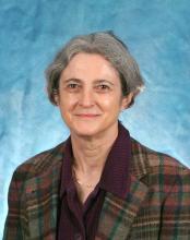 Former faculty member Anne Dellinger photographed for headshot