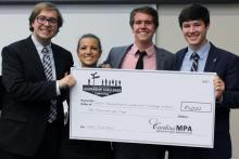 Public Administration Leadership Challenge Winner Photo
