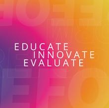"Criminal Justice Innovation Lab logo reading ""Educate, Innovate, Evaluate"""