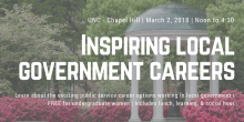 School to Co-Host Event Educating Undergraduate Women Students about Careers in Local Government