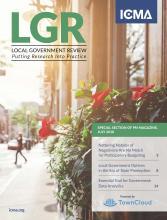 Public Management magazine July 2018