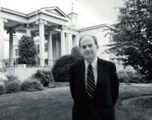 John Sanders at the School of Government