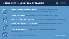 Tips for presenting the spread of coronavirus