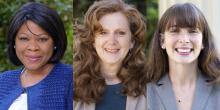 Headshots of Anita Brown-Graham, Margaret Henderson, and Erin Riggs