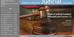 Code of Judicial Conduct 1