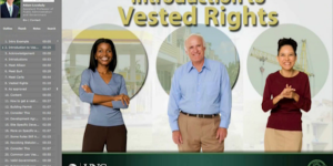 Introduction to Vested Rights