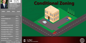 Conditional Zoning Online Module