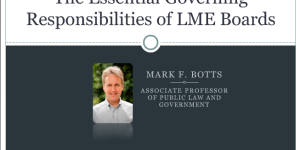 The Essential Responsibilities of LME Governing Boards